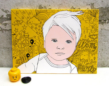 portret Iggy