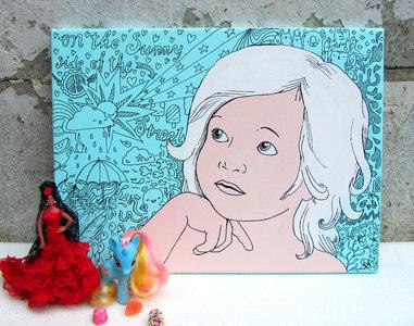 portret pixie